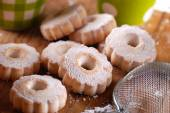 Canestrelli, traditional Italian cookies — Stock Photo