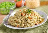 Risotto with assorted vegetables — Foto de Stock