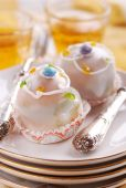 St. Martino cookies with frosting — Stock Photo