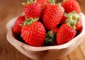Pile of red strawberries — Fotografia Stock