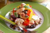 Salad of assorted vegetables — Stockfoto