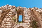 Ruins of Byzantine church in Jerusalem — Stock Photo