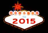 Happy 2015 — Stock Photo