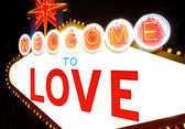 Welcome to love — Stock Photo