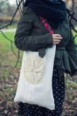 Ethnic handmade bag — Stock Photo