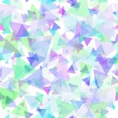 Scattered Transparent Triangles Pattern — Stock Photo