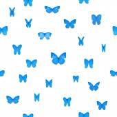 Repeatable Blue Butterlies — Stock Photo