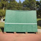 Tennis backboard — Stock Photo