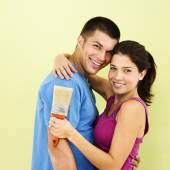 Happy smiling couple. — Stock Photo