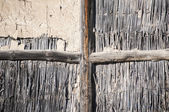 Wall of rural barn — Stock Photo