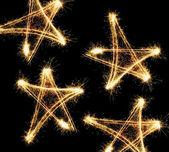 New year stars — Stock Photo