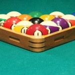 Eight ball rack — Stock Photo #63281747
