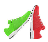 Womens sport shoes — Stock Photo