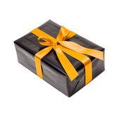 Caixa de presente preta — Foto Stock