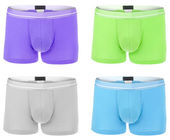 Colorful boxer shorts — Stock Photo