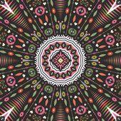 Ethnic decorative vector ornament on native ethnic style — Stock Vector