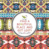 Seamless mönster i afrikansk stil — Stockvektor