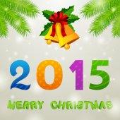 Christmas Bells 2015 Background — Stock Photo