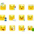 Постер, плакат: Emoticons doctor
