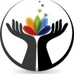 el çiçek logosu — Stok Vektör #52508323
