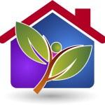 Eco energy home — Stock Vector #52606917