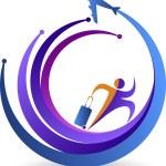 Travel logo — Stock Vector #53295577