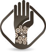 Manpower logo — Stock Vector