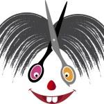 Hair cut logo — Stock Vector #68819013