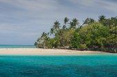 White sand beaches in the kingdom of Tonga — Stock Photo