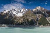 Hooker údolí, Nový Zéland — Stock fotografie
