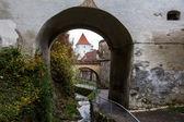 Brasov city wall — Stock Photo