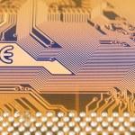 Circuit board digital highways — Stock Photo #74771311