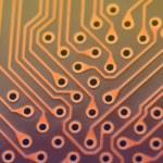 Circuit board digital highways — Stock Photo #74771353