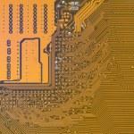Circuit board digital highways — Stock Photo #74771303