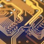 Circuit board digital highways — Stock Photo #74771325