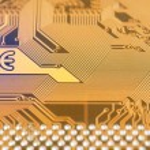 Circuit board digital highways — Stock Photo #74771343