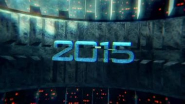 Cyber Year 2015 — Video Stock
