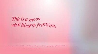Motion for Valentine's Day — Стоковое видео