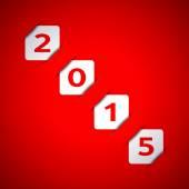 Szczęśliwego nowego roku 2015 — Wektor stockowy
