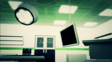 Operation Room in Hospita — Stock Video
