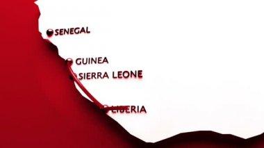 Ebola Virus Spreading to USA — Stock Video