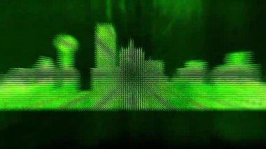 Dallas city background — Stock video