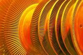 Industrial turbine — Stock Photo