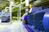 Factory motor machine equipment — Stock Photo