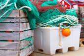 Fishing nets. Fishing industry. — Stock Photo