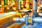 Chemical factory business — Stock Photo