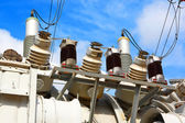 Transformer high-voltage electric. — Stock Photo