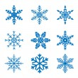 Snowflake set — Stock Vector #52518207