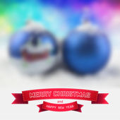 Christmas toys — Stock Vector