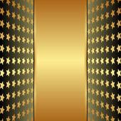 Golden backgroun — Vector de stock